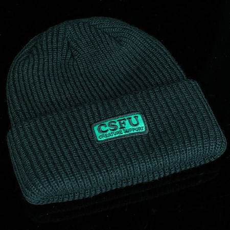 Creature CSFU Support Long Shoreman Beanie Black