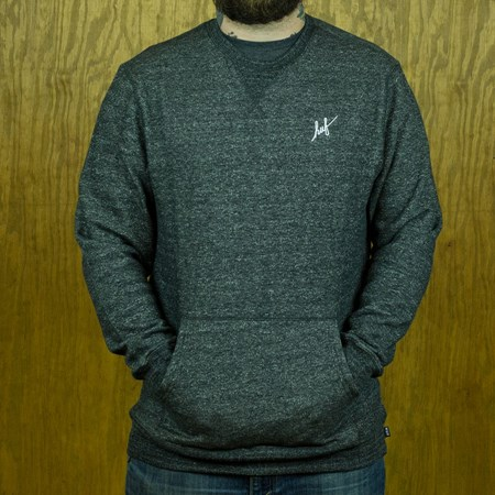 HUF Cadet 2.0 Crew Sweatshirt Charcoal Heather