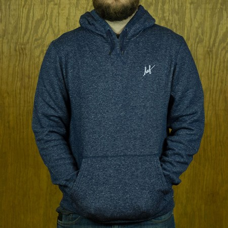 HUF Cadet 2 0 Pullover Hooded Sweatshirt Navy Heather