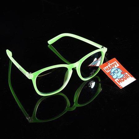 Happy Hour Shades Flap Jacks Sunglasses Green