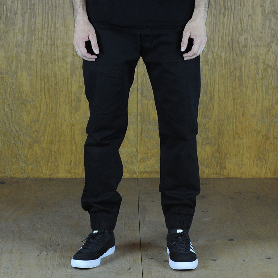 Black Pants and Jeans Chino Joggers in Stock Now