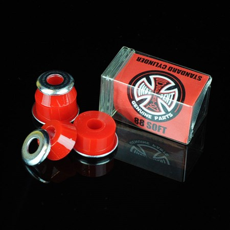 Independent Standard Cylinder Bushings Red