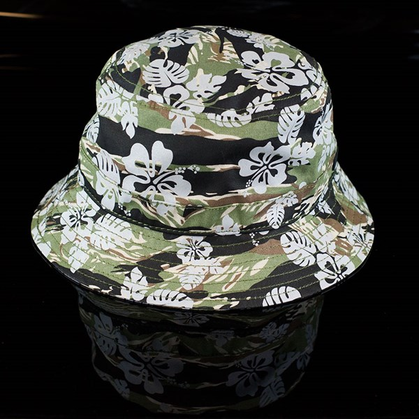 The Official Brand Hibiscus Bucket Hat 3M Camo