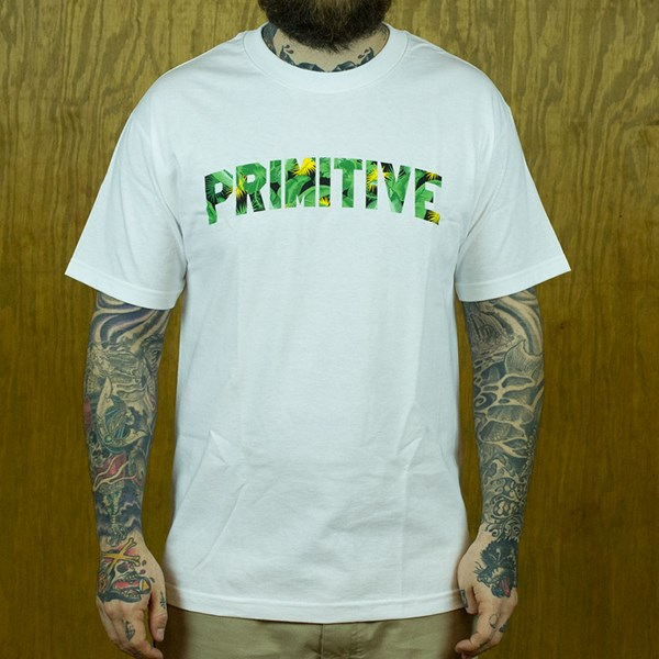 Primitive Delta T Shirt White