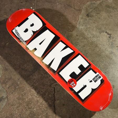 Baker Brand Logo Deck White