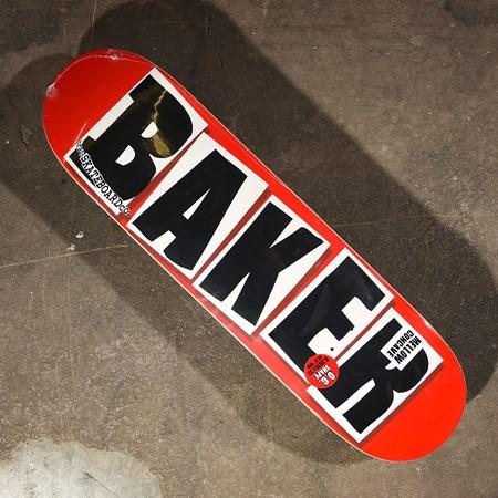 Baker Brand Logo Deck Red, Black