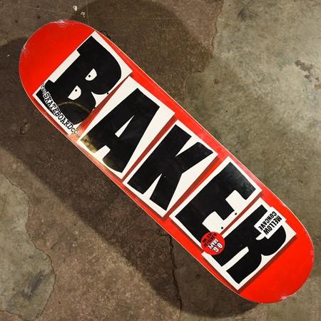 Baker Brand Logo Deck Black