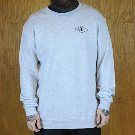 Traffic Electrici-T Crew Neck Sweatshirt Heather Grey