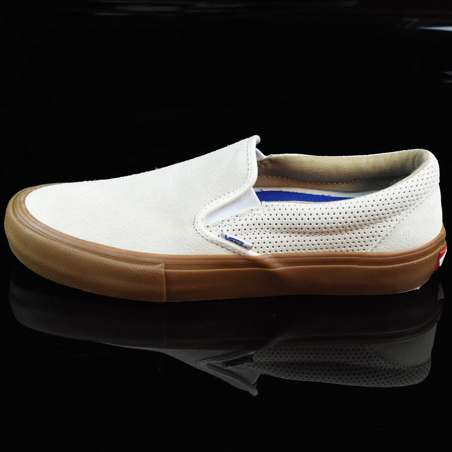 Off White, Gum Shoes Slip On Pro Shoes in Stock Now