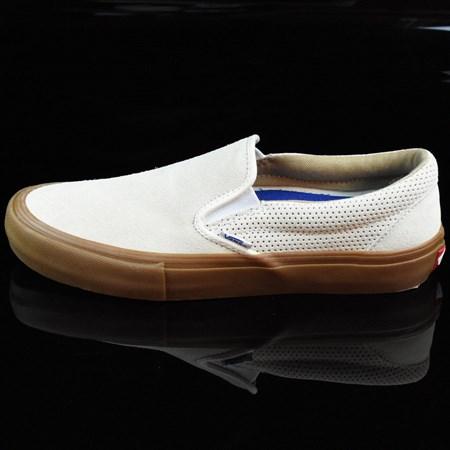 Vans Slip On Pro Shoes Off White, Gum