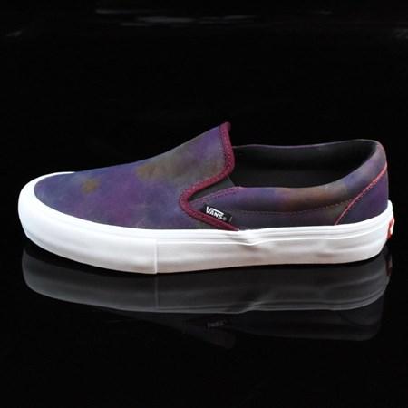 Vans Slip On Pro Shoes Tie Dye, White