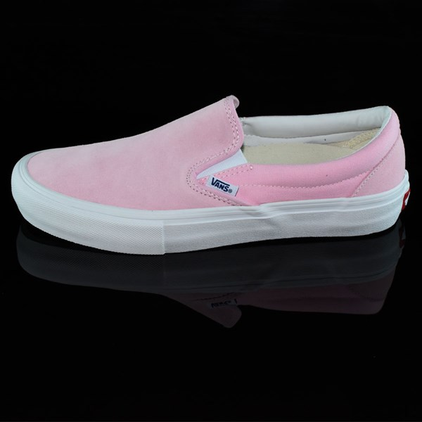 ff221d5faeb6 Vans Slip On Pro Shoes Candy Pink