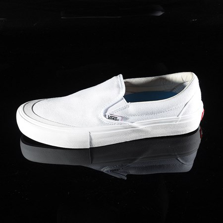 Vans Slip On Pro Shoes White (Andrew Allen) in stock now.