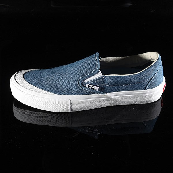 5712c2160ee Slip On Pro Shoes Navy (Andrew Allen) In Stock at The Boardr