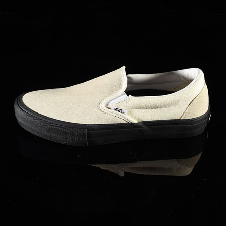 Size 11 in Vans Slip On Pro Shoes, Color: Classic White, Black