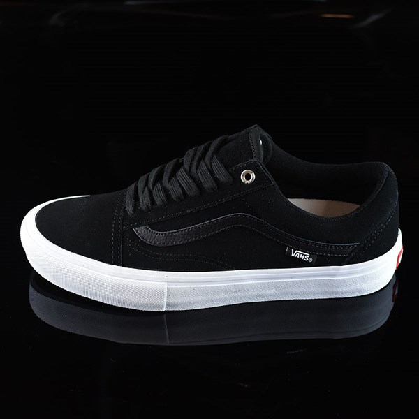 Vans Old Skool Shoes Black, Black, White
