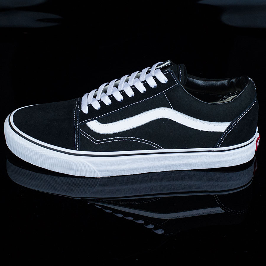 Black, White Shoes Old Skool Shoes in Stock Now
