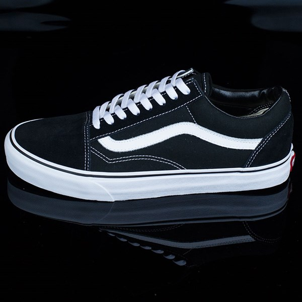 vans old skool shoes black and white