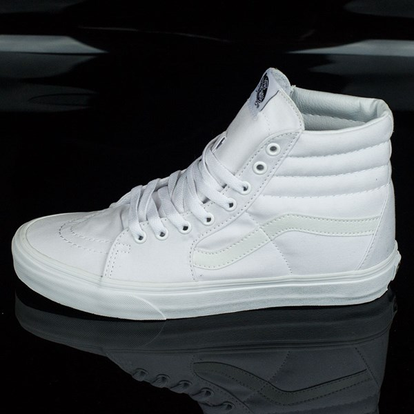 Sk8-Hi Shoes True White In Stock at The Boardr 5df66a510
