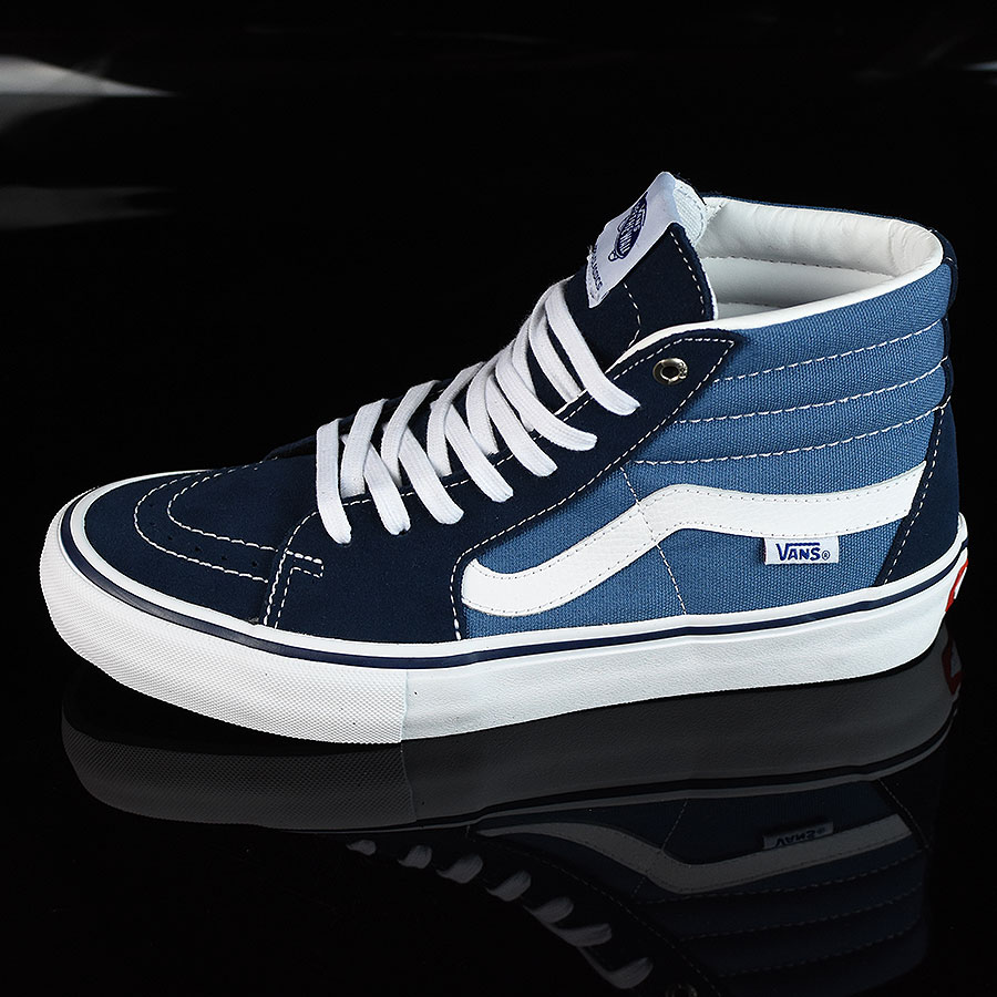 Navy, White Shoes Sk8-Hi Pro Shoes in Stock Now