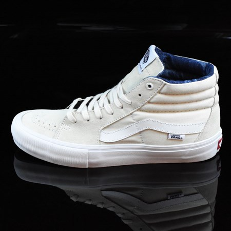 Vans Sk8-Hi Pro Shoes White, Acid Wash, White