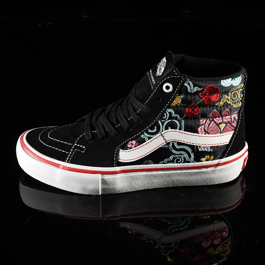 Lizzie Armanto, Floral Shoes Sk8-Hi Pro Shoes in Stock Now