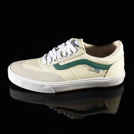 Vans Gilbert Crockett Pro Shoes (Center Court) Classic White, Evergreen
