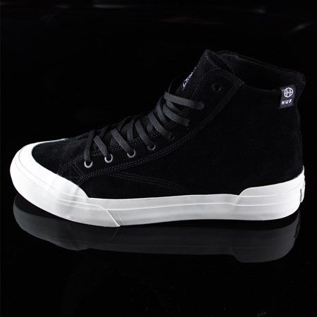 Size 11 in HUF Classic Hi Shoes, Color: Black, Bone