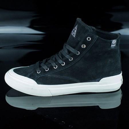 HUF Classic Hi Shoes Black, Light Gray