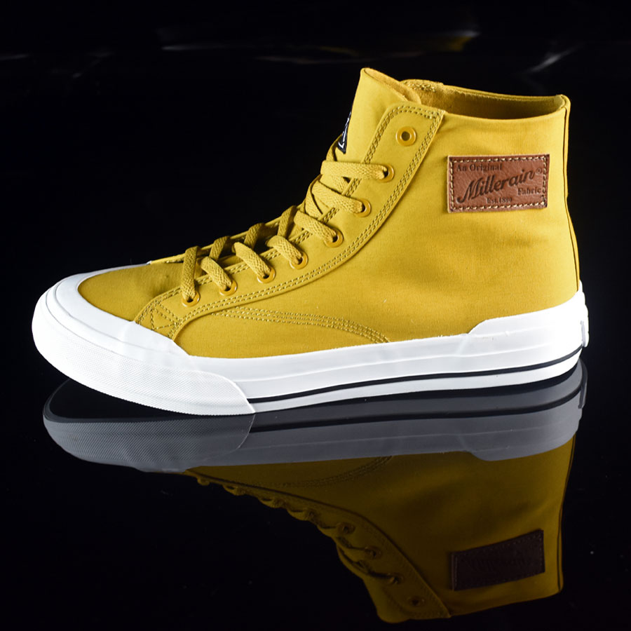 Mustard, Millerrain Fabric Shoes Classic Hi Shoes in Stock Now