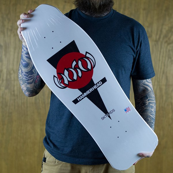 Hosoi Double Kick Hammerhead Deck White