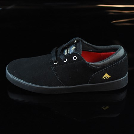 Emerica The Figueroa Shoes Black, Black in stock now.