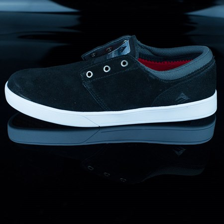 Size 13 in Emerica The Figueroa Shoes, Color: Black, White, White