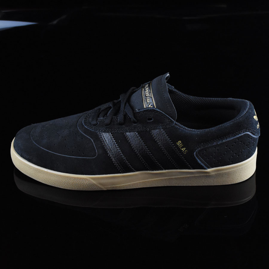 Black, Black, Gum Shoes Silas Vulc ADV Shoes in Stock Now