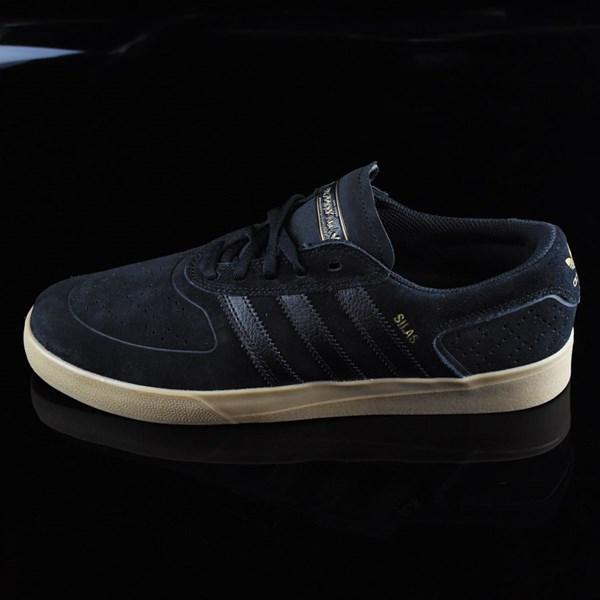 adidas Silas Vulc ADV Shoes Black, Black, Gum
