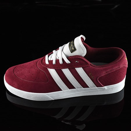 adidas Silas Vulc ADV Shoes Burgundy in stock now.