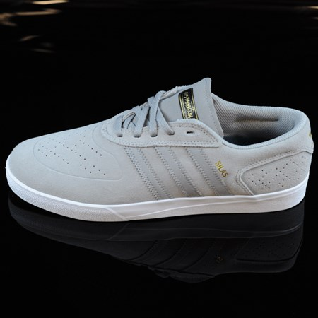 Size 10.5 in adidas Silas Vulc ADV Shoes, Color: Solid Grey, Solid Grey, White
