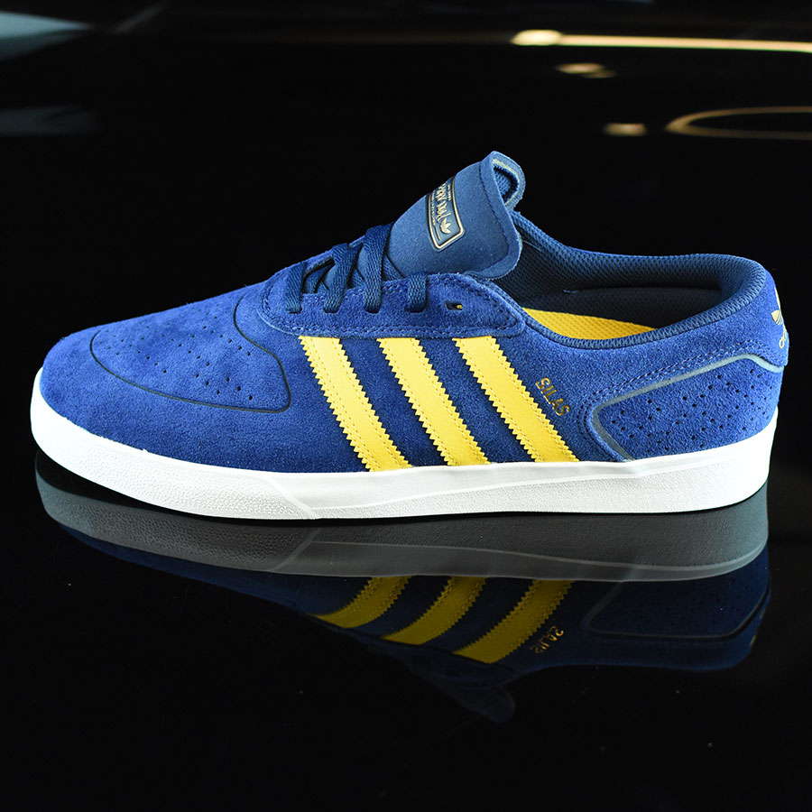 66e850e7f5c Oxford Blue  Corn Yellow Shoes Silas Vulc ADV Shoes in Stock Now