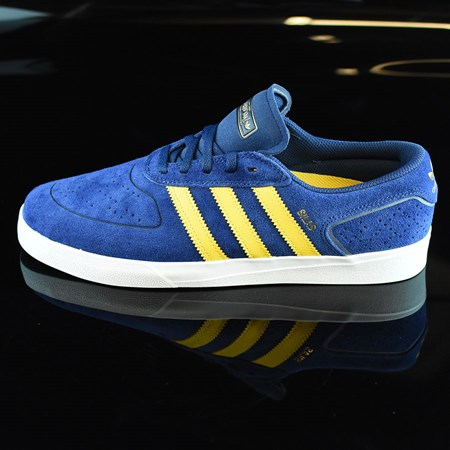 adidas Silas Vulc ADV Shoes Oxford Blue/ Corn Yellow