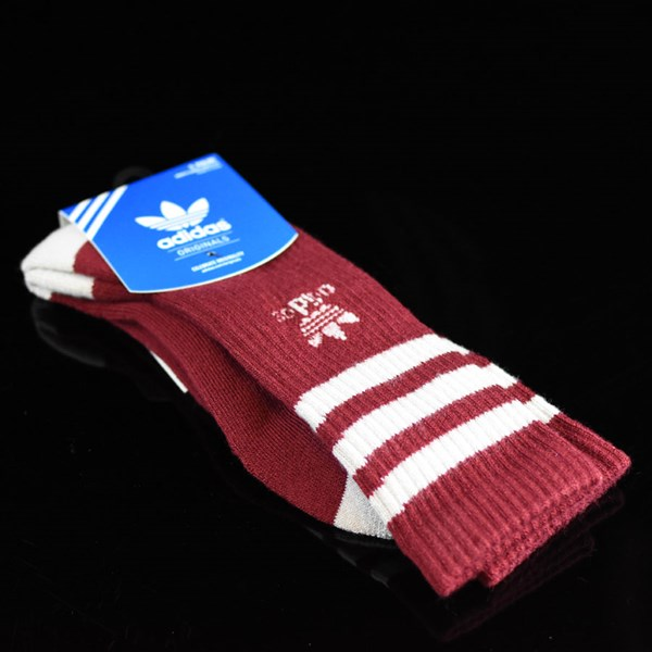 adidas Originals Socks Collegiate Burgundy