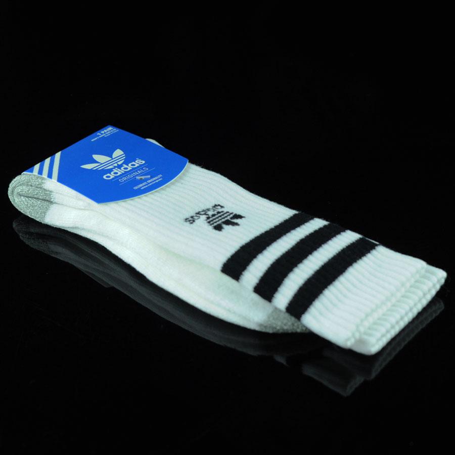 White, Black Socks Originals Socks in Stock Now