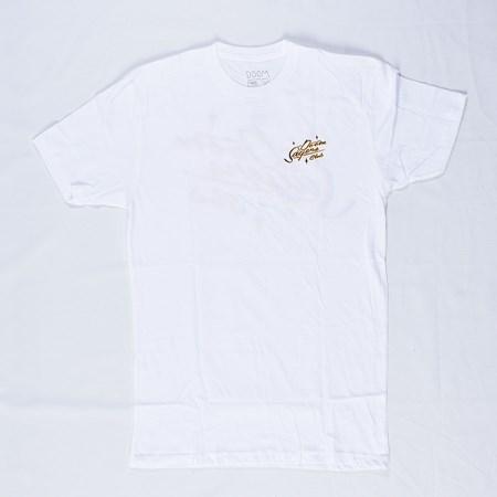 Doom Sayers Sacto Script T Shirt White
