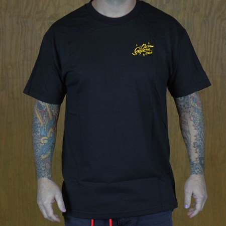Doom Sayers Sacto Script T Shirt Black