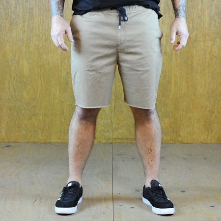 Size Small in Brixton Madrid Shorts, Color: Khaki