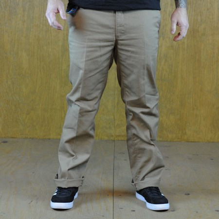 Brixton Fleet Chino Pants Khaki in stock now.