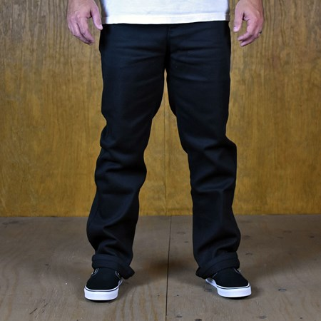 Size 34 in Brixton Fleet Chino Pants, Color: Black