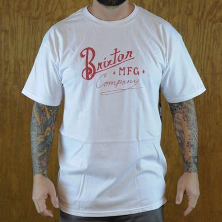 Brixton Bancroft T Shirt White