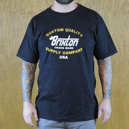 Brixton Erwin T Shirt Black