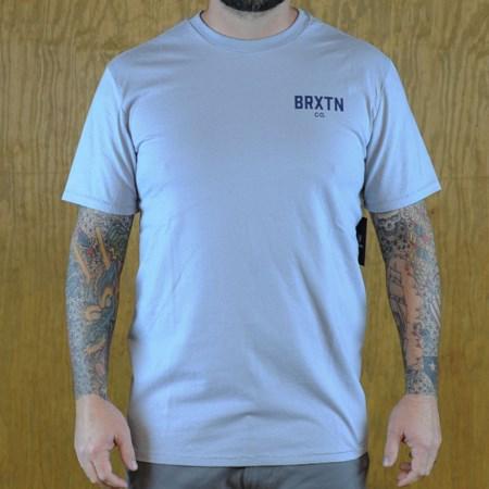 Brixton Cane Premium T Shirt Denim