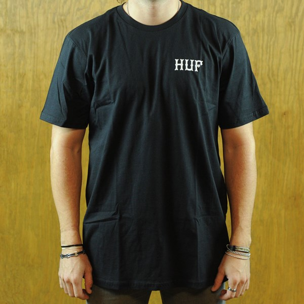 HUF Todd Francis Never Say Die T Shirt Black